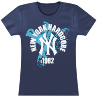 Agnostic Front Women's  1982 Girls Jr Blue