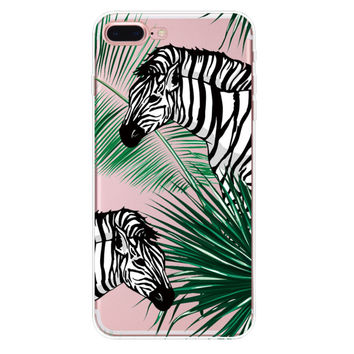 Zebra iPhone 7 7Plus & iPhone se 5s 6 6 Plus Case Cover +Gift Box-94