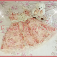 Liz Lisa Web-Limited Mesh Tulle Cami Dress (NwoT) from Kawaii Gyaru Shop