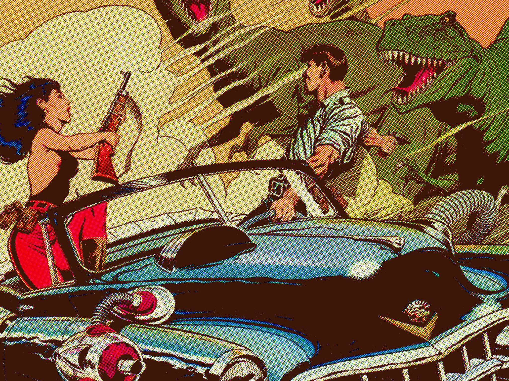 Quot Cadillacs And Dinosaurs Quot By Tim Jordan From Hero Complex