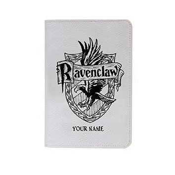 Ravenclaw Logo Leather Business Passport Holder Protector Cover_SUPERTRAMPshop