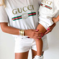 GUCCI Children's T-shirt + Adult