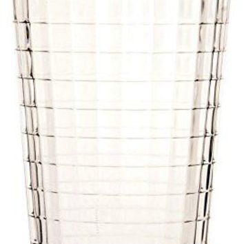 Circleware Windowpane Drinking Glasses Set of 4 17 oz Clear