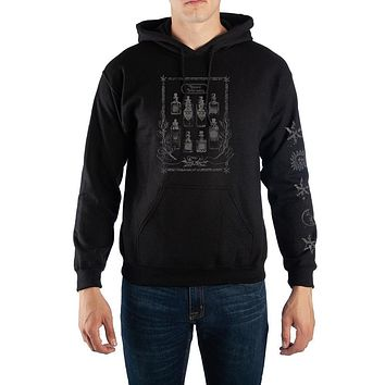 Harry Potter Potions Pullover Hooded Sweatshirt