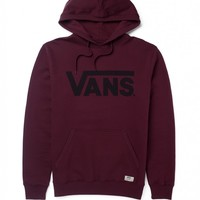 Vans Classic Pullover Hoody in Wine | Shop for Men's clothing | The Idle Man