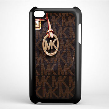 Michael Kors Logo Brown iPhone 5C Ipod Touch 4 Case