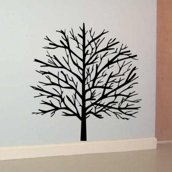 Tree Decal Sticker Wall Nature Branch Kid Child Boy Girl Nursery Room