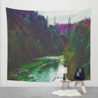 Earth Sounds Wall Tapestry by DuckyB (Brandi)
