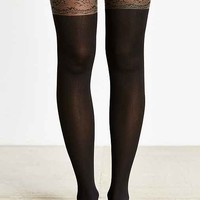 Lacey Faux Thigh High Tight