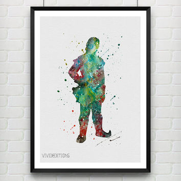 Kristoff Frozen Disney Poster, Watercolor Art Print, Children's Room Decor, Minimalist Wall Art, Not Framed, Buy 2 Get 1 Free! [No. 156]