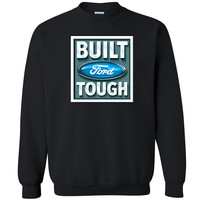 Licensed Built Ford Tough Unisex Crewneck Rodeo American Classic Sweatshirt
