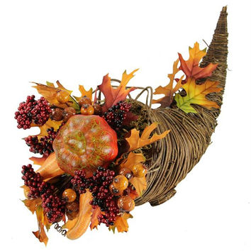 Thanksgiving Decoration - Cornucopia