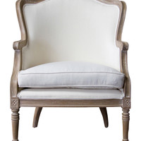 Design Studios Baxton Charlemagne Chair - White
