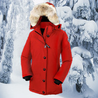 Canada Goose Canada Goose down jacket outdoor wear thick long section of female mountaineering ski suits [8979101191]