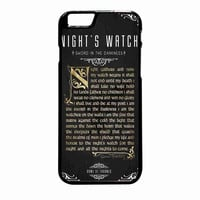Game Of Thrones Nights Watch iPhone 6 Plus Case