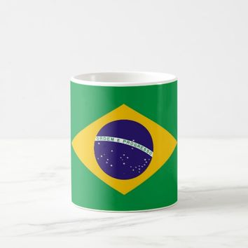 Mug with Flag of Brazil