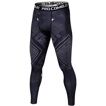 Black Panther Compression Tights Leggings