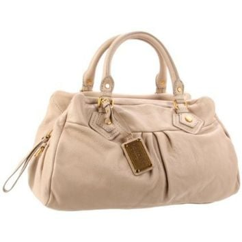 Marc by Marc Jacobs Classic Q M3121142 Shoulder Bag,Creme,One Size