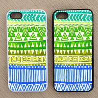 Aztec Tribal Indian Pattern iPhone Case, iPhone 5 Case, iPhone 4S case, iPhone 4 Case - SKU: 130