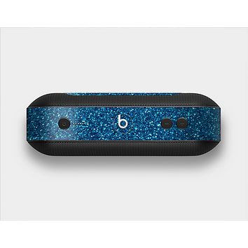 The Blue Sparkly Glitter Ultra Metallic Skin Set for the Beats Pill Plus