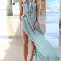 Blue Mermaid Dress