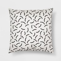 Black And White Geo Throw Pillow - Room Essentials™