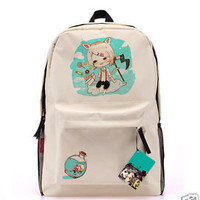New Tokyo ghouls JUZO SUZUYA / REI backpack Anime shoulder canvas bag schoolbag