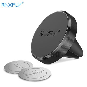 RAXFLY Universal Car Holder 360 Degree Rotatable Magnetic Air Vent Mount Car Phone Holder Mobile Phone Accessories Stand Holder