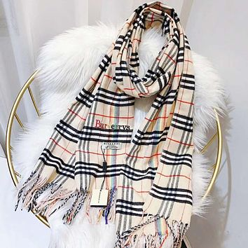 Perfect Burberrys Women Wool Scarf Shawl Scar