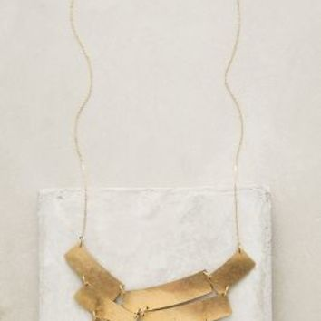 Nashelle Turris Bib Necklace in Gold Size: One Size Necklaces