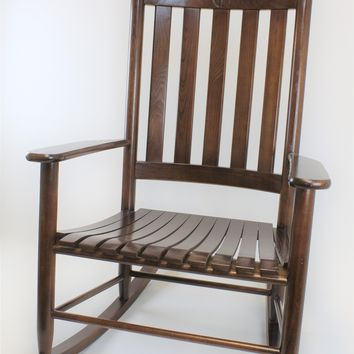 Dixie Seating Co. Asheville Wood Grand Rocking Chair No. 695S - Ships within  2 to 4 Weeks