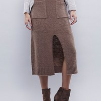 Free People Cozy And Cool Swit Skirt