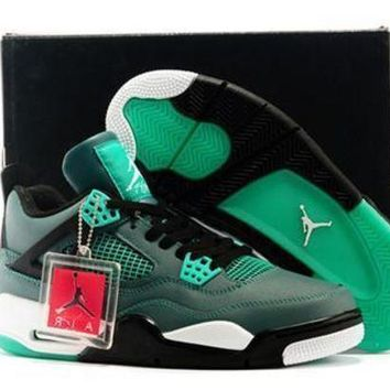 Cheap Air Jordan 4 Retro Shoes 30 Anniversary Teal