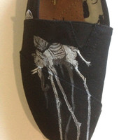 Salvador Dali Elephant TOMS shoes by AlphaxOmega on Etsy