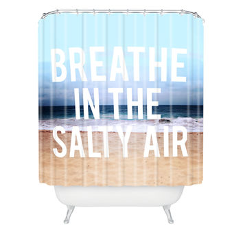 Leah Flores Breathe Shower Curtain