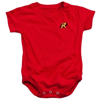 Batman - Robin Logo Infant Snapsuit