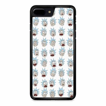 Rick And Morty - Ricks Face iPhone 8 Plus Case