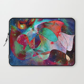 Time Warped Laptop Sleeve by DuckyB (Brandi)