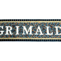 Mosaic Name Sign, Subway Art