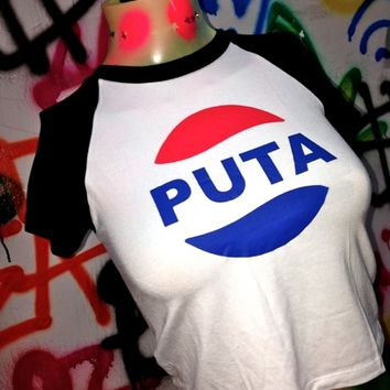 SWEET LORD O'MIGHTY! PUTA COLA RAGLAN