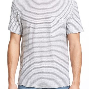 Men's James Perse Slub Linen & Cotton T-Shirt,