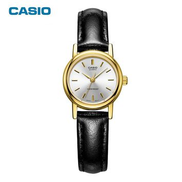 CASIO Watches 2017 New Fashion Simple LTP-1095Q Classic Watches Women Leather Quartz Watch Dress Relogio Feminino Free Shipping