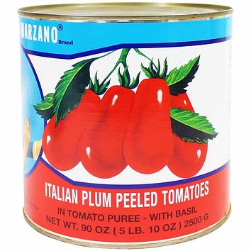 La Bella San Marzano Peeled Tomatoes with Basil 5.1 lb. (2.3kg)