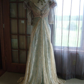 """Inspired Cinderella """"Ever After Breathe"""" Wedding Gown by RetroVintageWeddings on Etsy"""