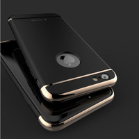 2016 new Elegance Luxury Derece Full Body Protection Cover Cases For iPhone 6 6s 6plus case Glass For iPhone 6S Case