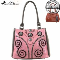 Montana West MW125G-8294 Concealed Carry Handbag