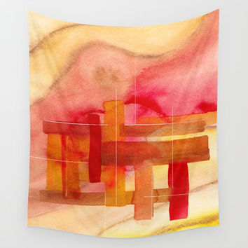 A 0 29 Wall Tapestry by Marco Gonzalez