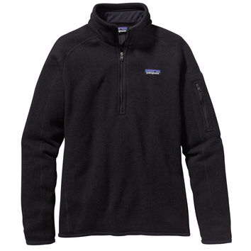 PATAGONIA WOMENS BETTER SWEATER 1/4 ZIP JACKET