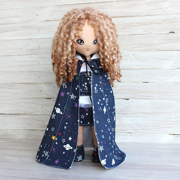 Cloth Doll  Fairy of Good Dreams, art doll, rag doll, handmade cloth doll, collectors doll, beautiful doll, OOAK, interior doll