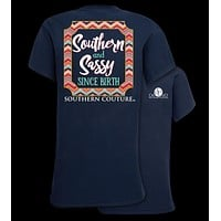 Southern Couture Preppy Southern & Sassy T-Shirt